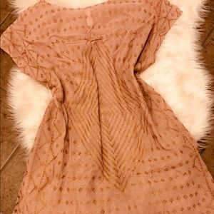 Free People New Romantics Boho Knit Dress